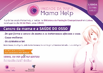 Cancro da mama e a SAÚDE DO OSSO 30MAI2018