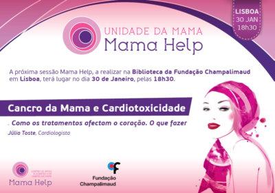 Cancro da Mama e Cardiotoxicidade. 30JAN2019